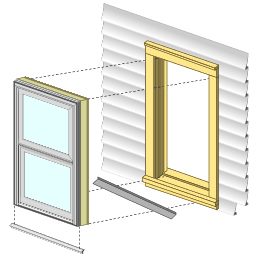 pocket replacement windows exterior the existing sashes and exterior stops of the old double or singlehung window are removed along with any balances jambliners savage mn windows replacement contractor